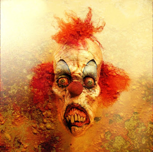 25 Clown Images in Their Evil Persona