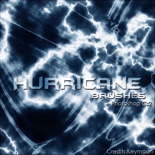 Hurricane Photoshop Brushes