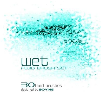 wet - Fluid Brush Set