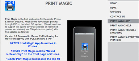 Print Magic - online printing software