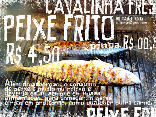 Peixe Frito : Hand Drawn font