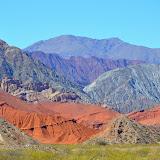 Quebrada de Las Conchas (région de Salta)