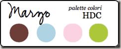 palette colori marzo 2011