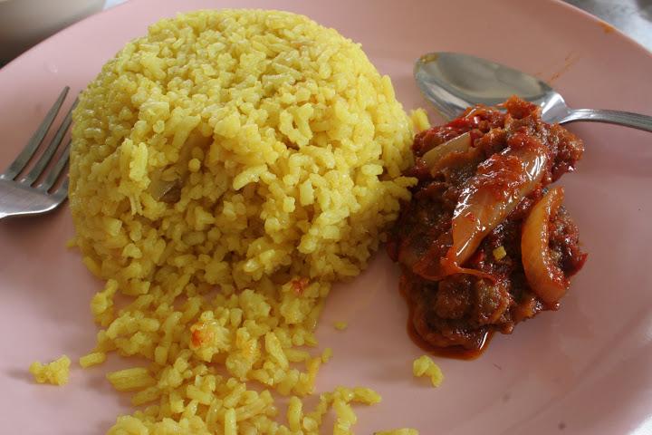 Juadah tengahari.. Nasi Kuning