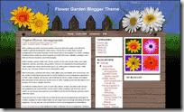 Flower Garden template