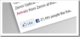 tombol facebook like