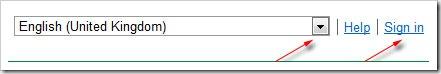 login-google-adword