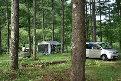 森のぽーさんの長野のプライベートキャンプ場