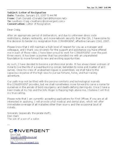 Resignation Letter Tips