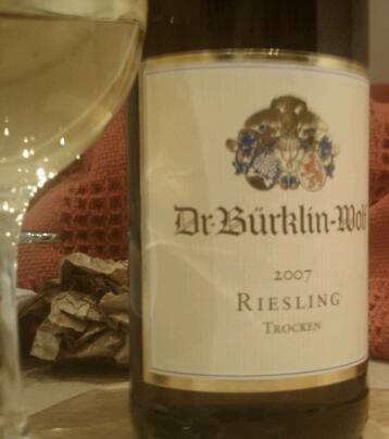 Dr Burklin-Wolf Reisling