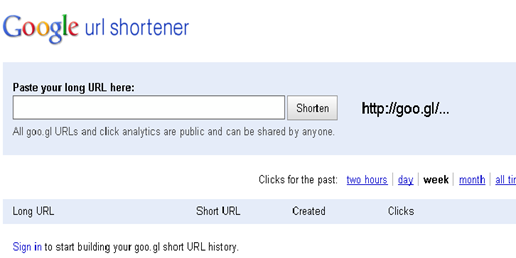 google_url_shortner