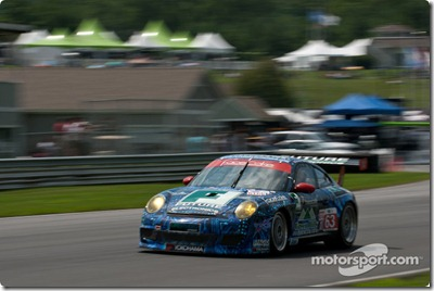 #63 TRG Porsche 911 GT3 Cup: Henri Richard, Andy Lally