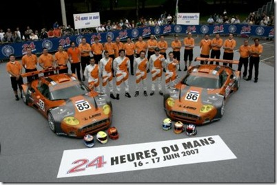 Spyker Squadron Le Mans 2007
