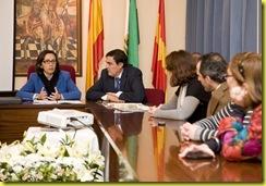 reunión alcaldes Cuenca - consejera OOPP 04