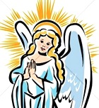 nice angel clipart