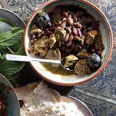 Ghormeh Sabzi (Veal and Kidney Bean Stew)