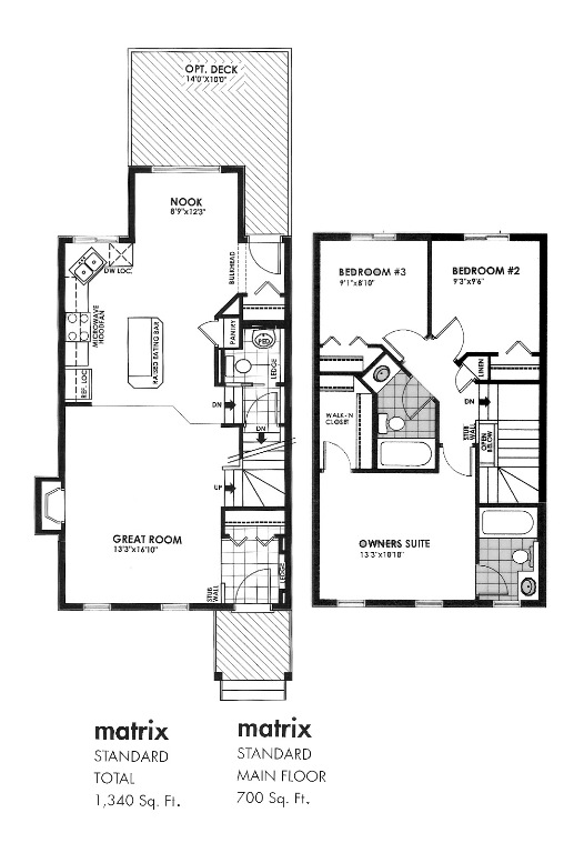 Matrix Floorplan
