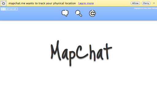 MapChat: CouchApp