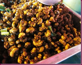 wororot market fried insects