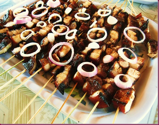grilled liempo pork belly