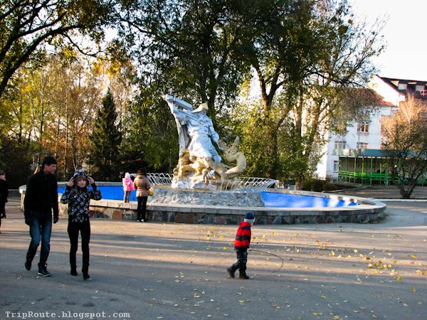 Городской парк Ровно