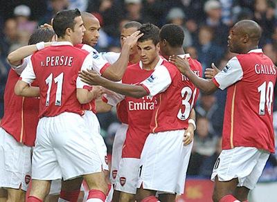 Arsenal 4 Bolton wanderers 2