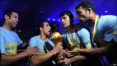 Egipto es el campeón de la Coipa  de Africa 2010