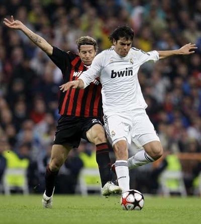 Kaká espera un recibimiento en Milán