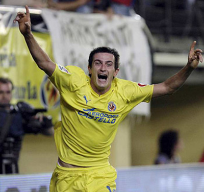 Villarreal  2, Racing de Santander  0
