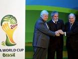 Presidente de Brasil presentó emblema oficial  del Mundial 2014