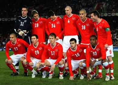 Suiza enfrenta a Inglaterra