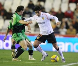 Valencia vs Racing Club de Santander