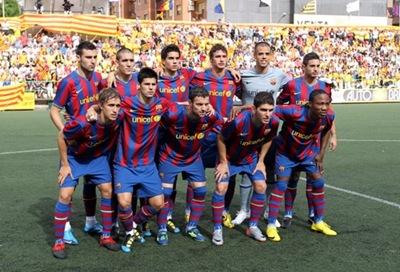Barcelona B enfrenta al Cartagena