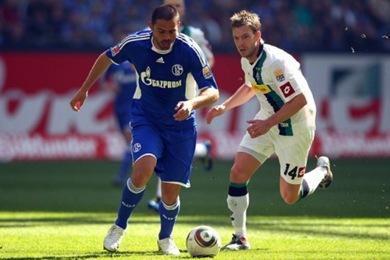 Schalke 04 vs Borussia Mönchengladbach,