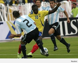 Argentina vs Ecuador - Sub 20