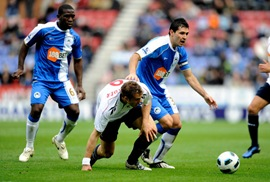 Wigan Athletic vs Bolton Wanderers