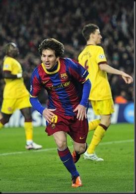 Barcelona eliminó al Arsenal 3 - 1