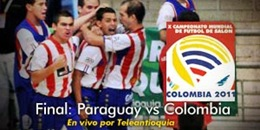Paraguay vs. Colombia, Sub 17