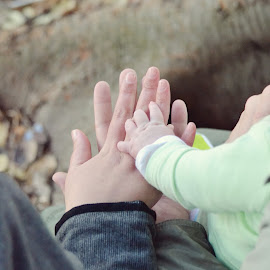 Hands by Silke Jordaan - Novices Only Portraits & People ( love, tree, mother, root, hands, family, baby, stack, boy, father )