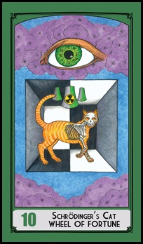 10 Wheel of Fortune - Schrodinger&#39;s Cat
