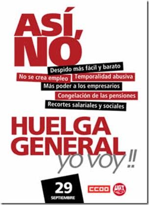 huelga general 29 septiembre 2010