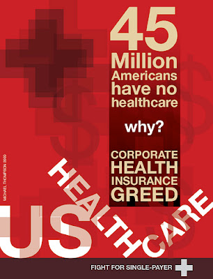 45 Million Americans have no healthcare. Why? Corporate Health Insurance Greed. US Healthcare. Fight for Single-Payer.