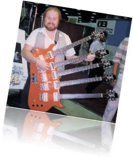 Guitarra 5 braços