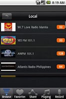 Screenshot of Radio Philippines