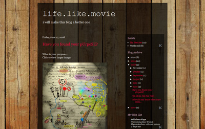 www.lifelikemovie.blogspot.com