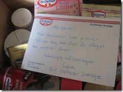 Ett trevligt brev!