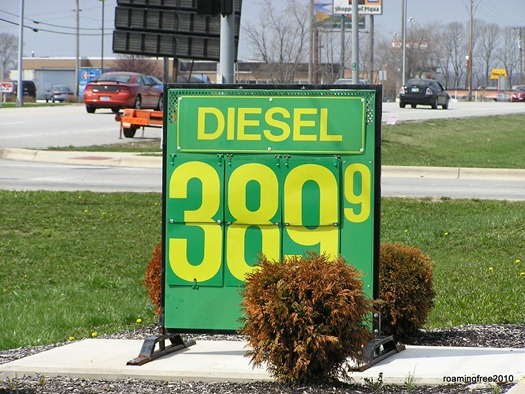 diesel in Ohio