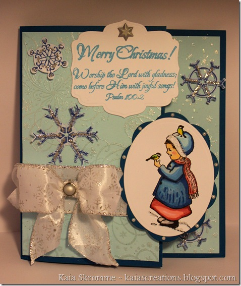 Spellbinders Labels Five Ovals Snowflake Shapeabilities Heartfelt Creations Chickadee surprise Worship the Lord ODBD