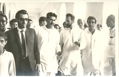 Gul Khan Nasir, Ahmed Nawaz Bugti and Khair Bakhsh Marri