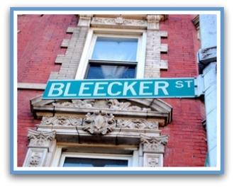 bleecker sign